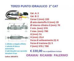 TERZO PUNTO IDRAULICO SECONDA CAT