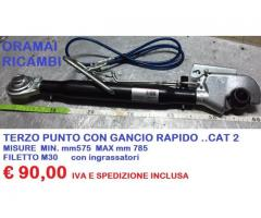 TERZO PUNTO 2° CAT CON ATTACCO RAPIDO
